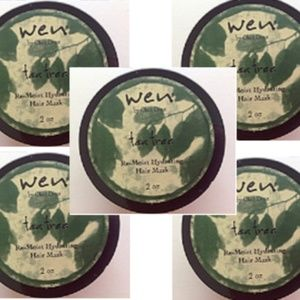 5 Wen TEA TREE Re-Moist Hydrating Hair Mask 2 oz.